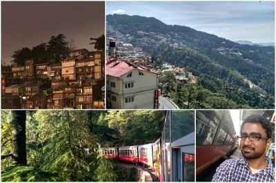 read about shish's historical trip to shimla