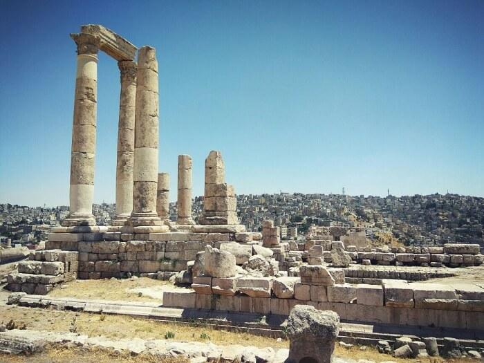 hercules temple jerash