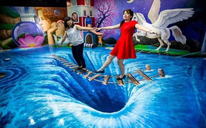Trick Eye Museum in Resorts World Sentosa
