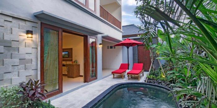 private villa in bali indonesia