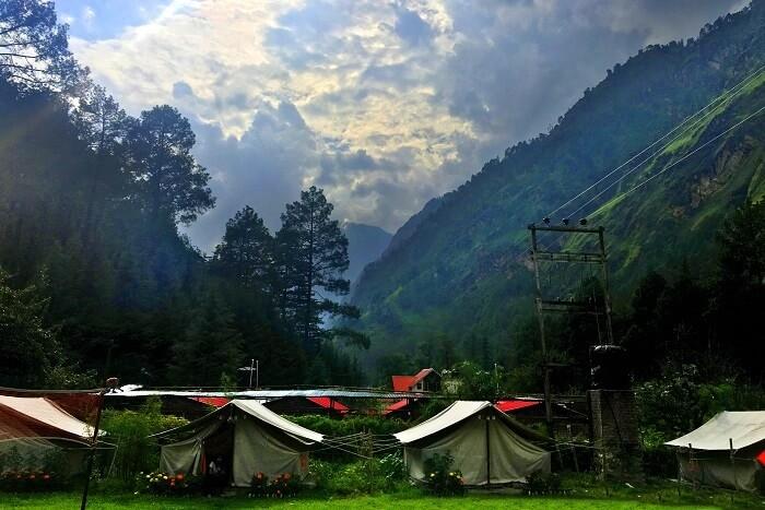 Kasol camping