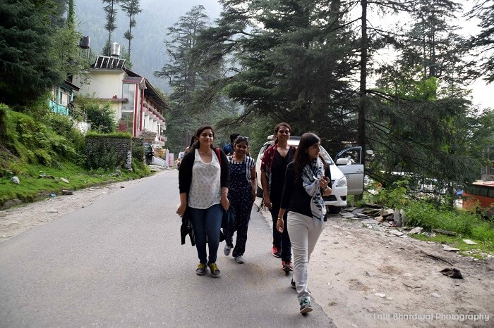 sightseeing in Kasol