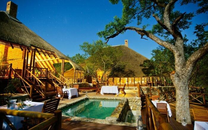A lodge in Marula region of Kruger National Park