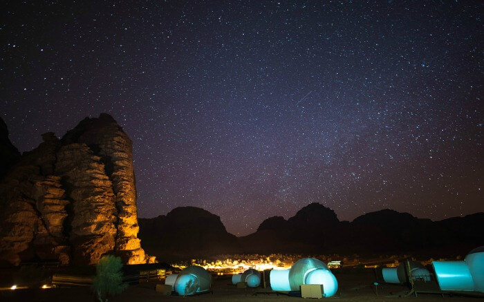 A night in Wadi Rum