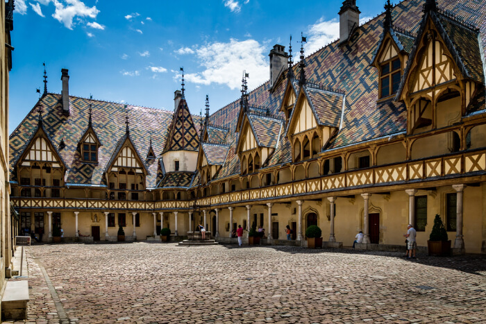 Beaune in Burgundy, France