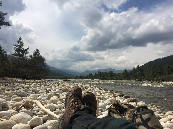 bhumthang river in bhutan