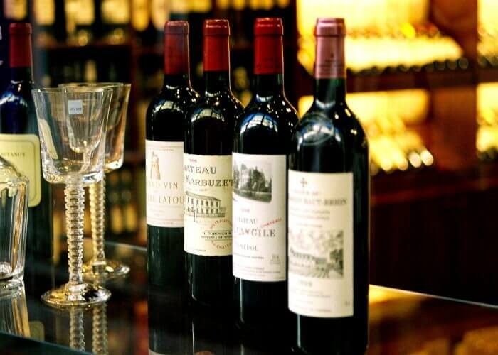 Choicest wine in Bordeaux
