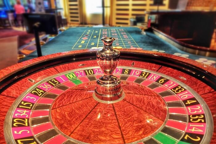 casino table view