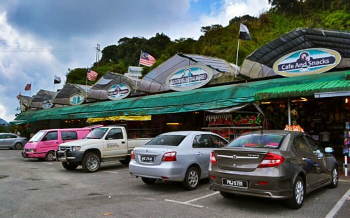 Central Market in Cameron Highlands