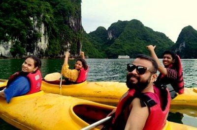 adventure trip to vietnam with friends