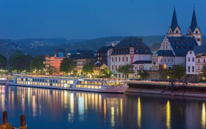 Cruise in Europe