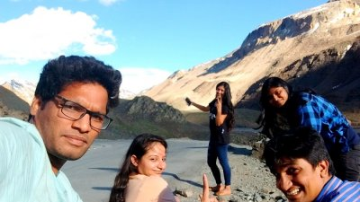 adventure trip to ladakh