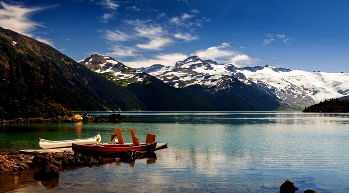 Garibaldi National Park In Canada