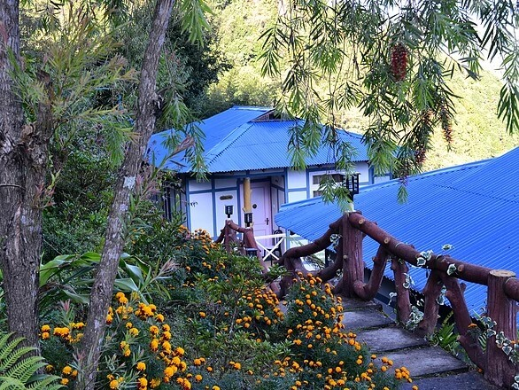 a small resort in the mountains of Sikkim