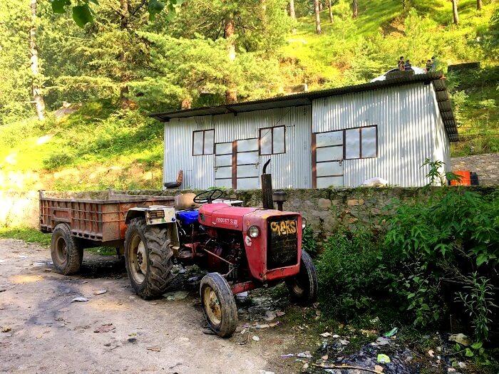 camp beauty in kasol