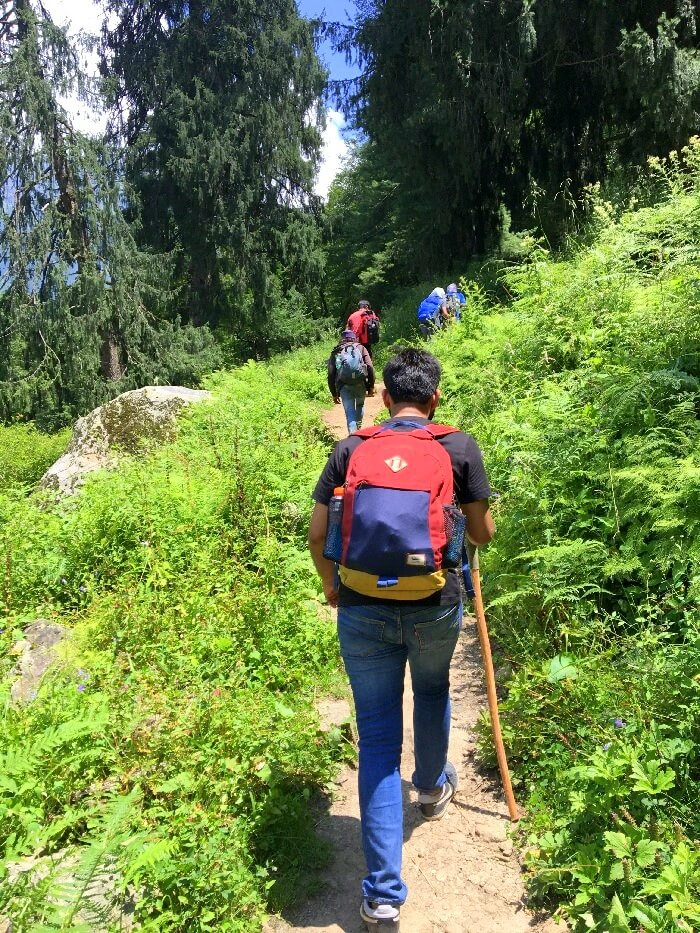 kheerganga trekking