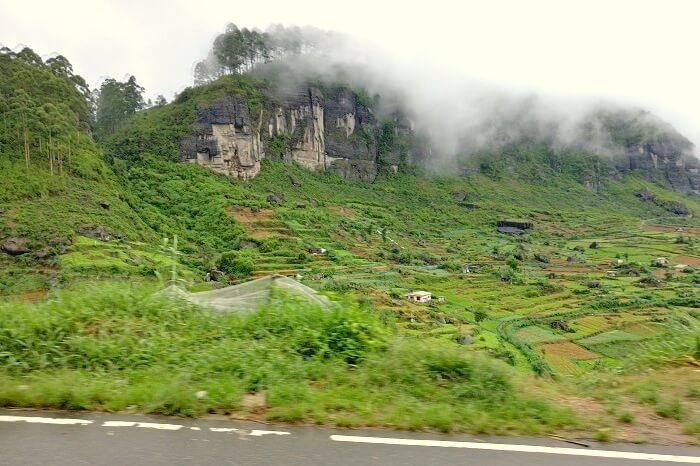 en route nuwara eliya