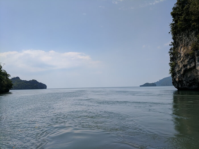 sea in langkawi