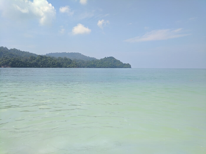 beautiful beach in langkawi