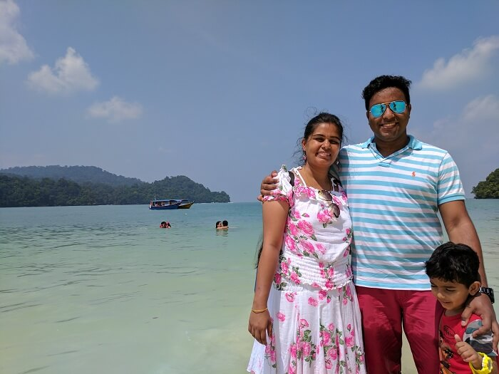 couple on a holiday in langkawi