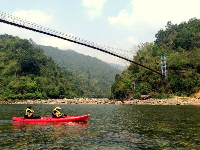 rafting in dawki