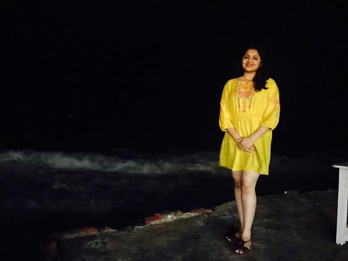 revan aarti kerala kovalam candlelight dinner beach