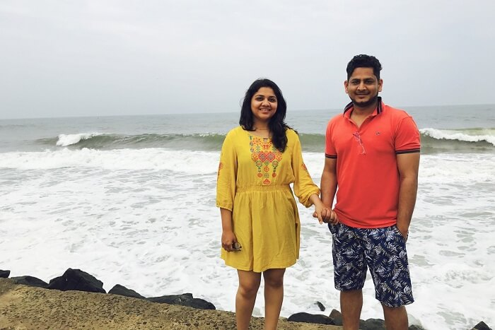 revan kerala kovalam beach together