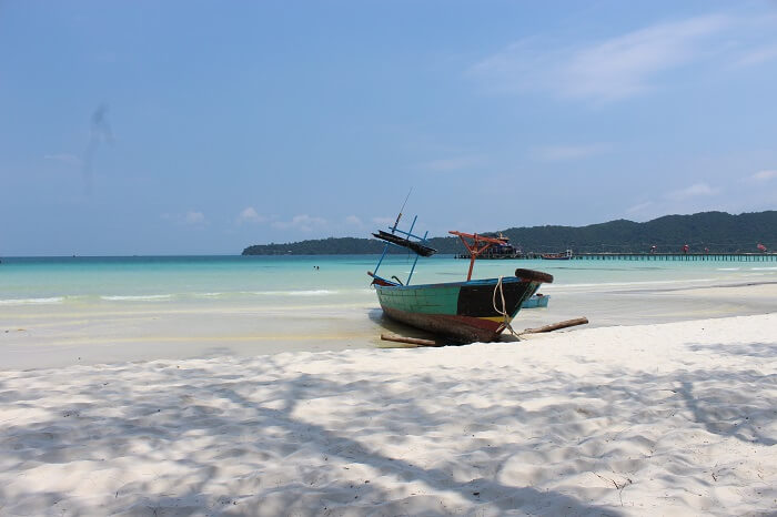 beaches in cambodia