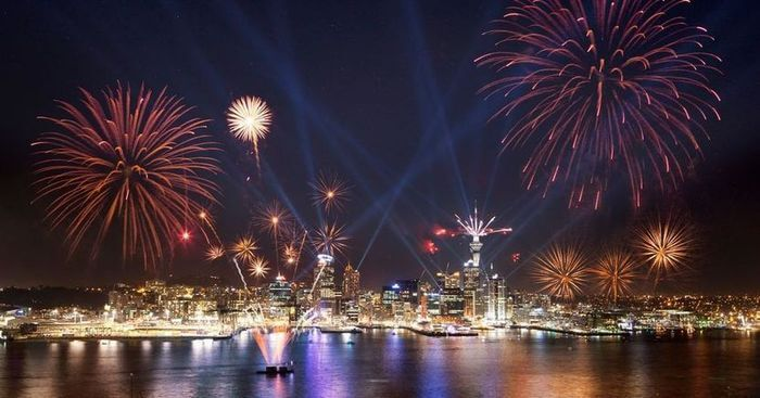 New Year in Auckland