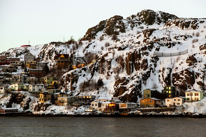 Newfoundland Canada in Winters