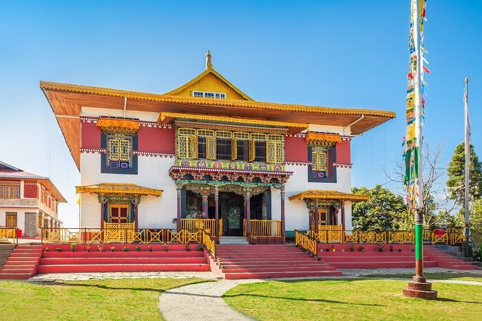 The famous Pemayangtse monastery in Sikkim