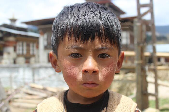 kids of bhutan