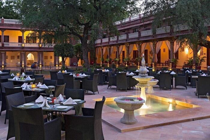 Ranbanka Palace restaurant
