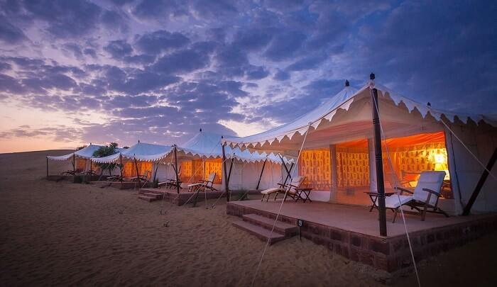 Samsara Resort Jodhpur tents