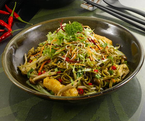 Simple Life Healthy Vegetarian Restaurant noodles BB2282017
