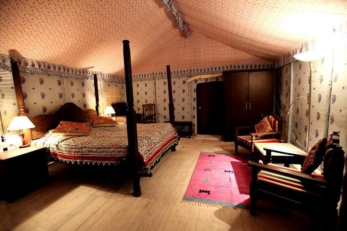 Thar Oasis Resort & Camp tent room