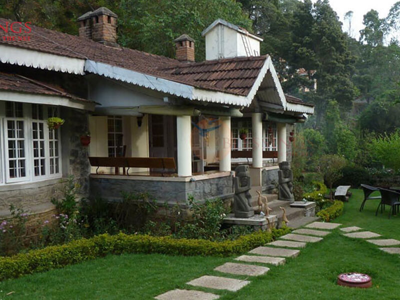 an old style resort in the hills of Kodaikanal