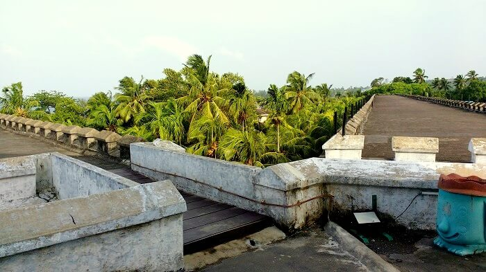Two wings of the Cellular Jail Andaman