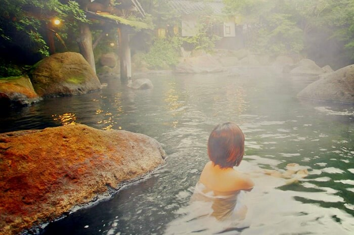 take a dip in hot water springs in sikkim