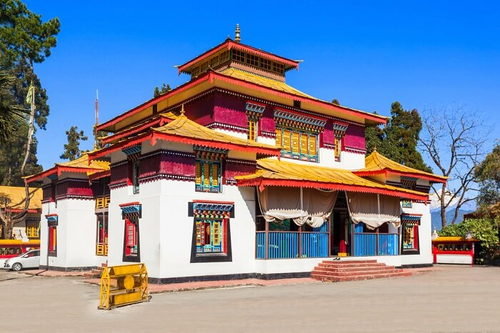 visit enchey monastery in sikkim
