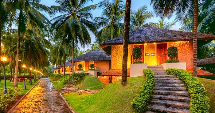 The executive deluxe cottages at the Great Mount Resort near Coimbatore