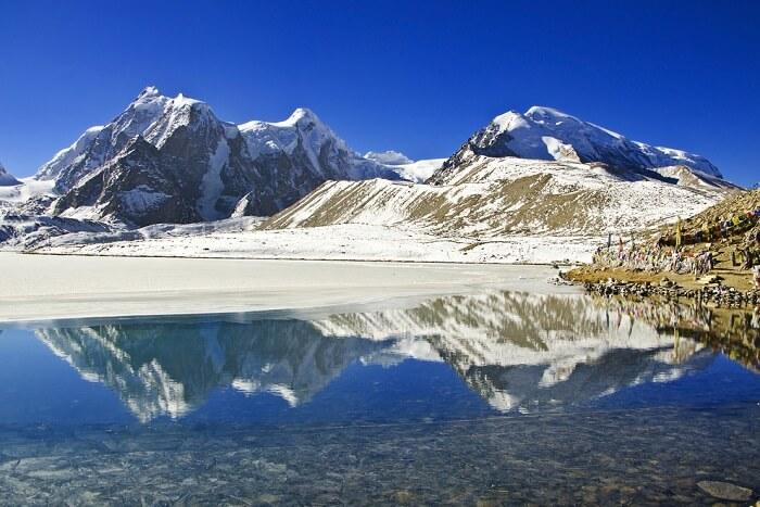 visit the gorgeous gurudongmar lake
