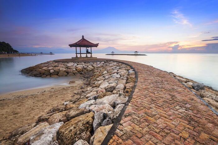 explore temples of sanur beach