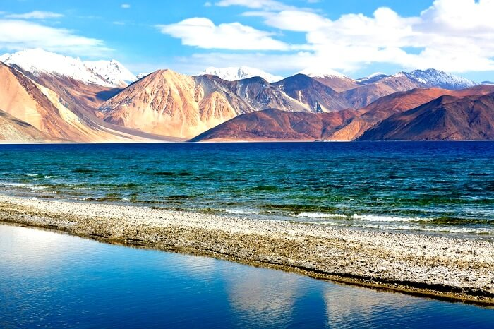 Pangong Lake Kashmir