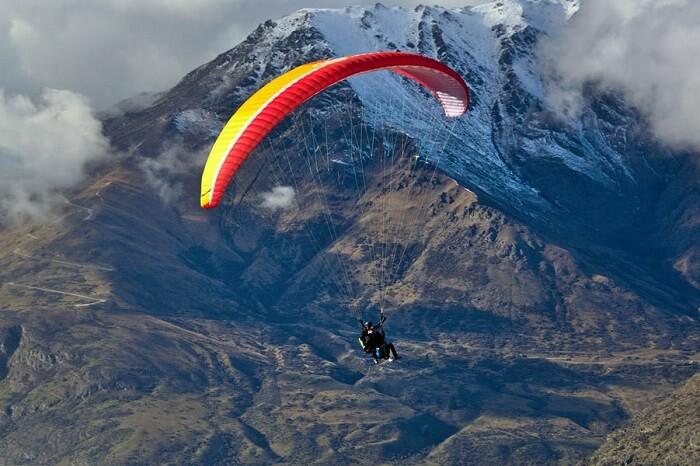 go paragliding in sikkim