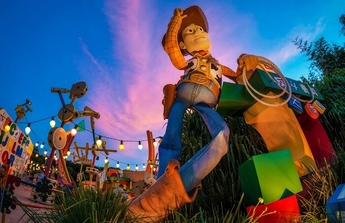 Toy Story Land in Hong Kong