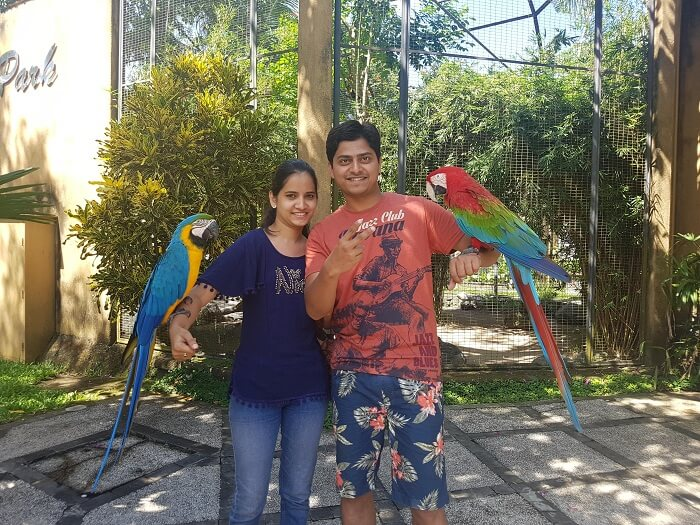 bird park in bali