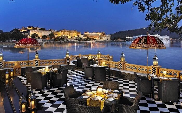 romantic restaurants Udaipur
