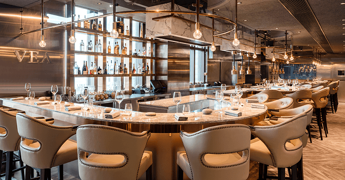 VEA Restaurant & Lounge, Hong Kong