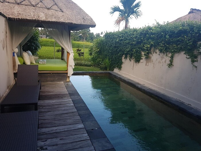 pool villa in ubud